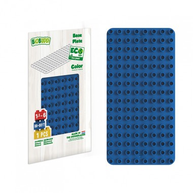 BiOBUDDi Educational base plate - Blue