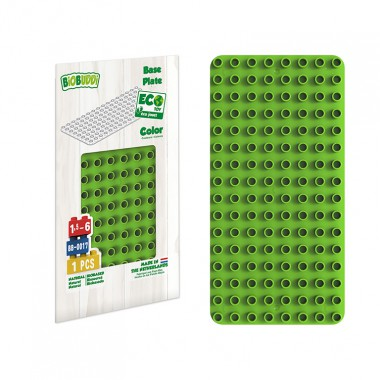 BiOBUDDi Educational base plate - Green