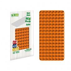 BiOBUDDi Educational base plate - Orange