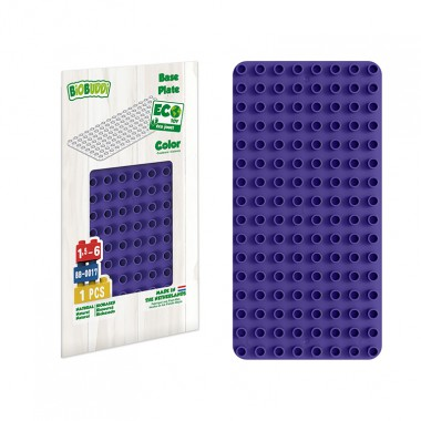 BiOBUDDi Educational base plate - Purple