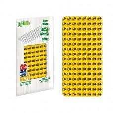 BiOBUDDi Educational base plate - Yellow