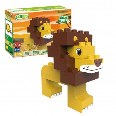BiOBUDDi Savanna playset