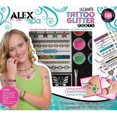 Alex Brands - Ultimate Tattoo Glitter Party