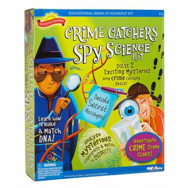 Scientific Explorer - Crime Catchers Spy Science Kit