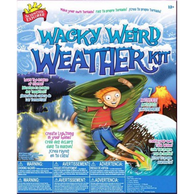 Scientific Explorer - Wacky Weird Weather Kit