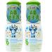 BabyGanics - Hand Sanitizer Fragrance Free - 50ml On-The-Go x 2