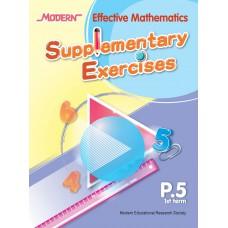 Modern Effective Mathematics Supplementary Exercises P.5 1st term