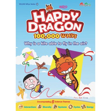 Happy Dragon #32 Why is a kite able to fly in the air?