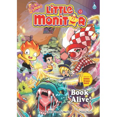 Little Monitor 13 - Book Comes Alive