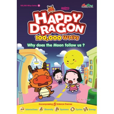 Happy Dragon #10 Why does the Moon follow us?