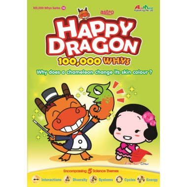 Happy Dragon #14 Why does a chameleon change its skin colour?