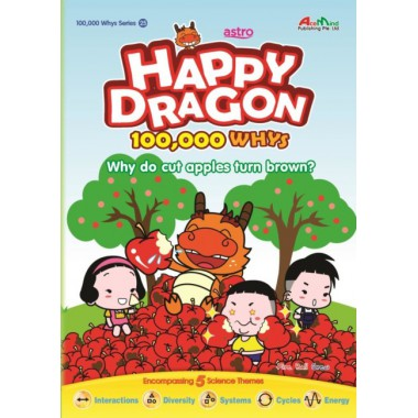 Happy Dragon #25 Why do cut apples turn brown?