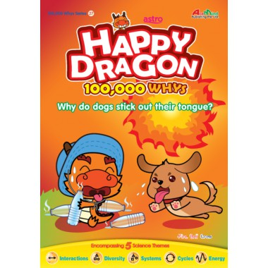 Happy Dragon #27 Why do dogs stick out their tongues?