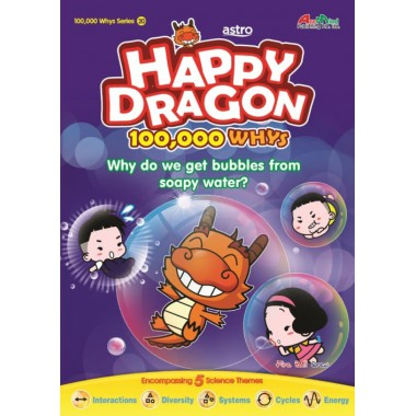 Happy Dragon #20 Why do we get bubbles from soapy water?