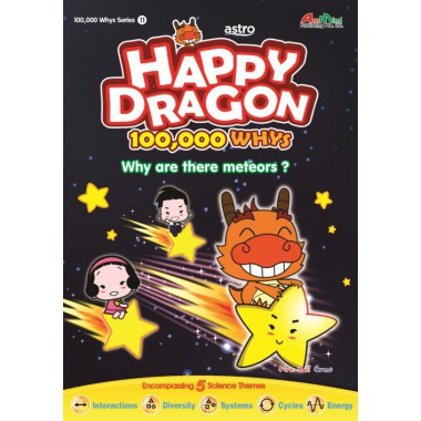 Happy Dragon #11 Why are there meteors?