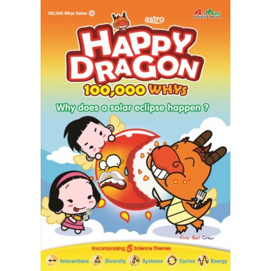 Happy Dragon #13 Why does a solar eclipse happen?