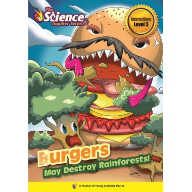 BURGERS MAY DESTROY RAINFORESTS! Level 3
