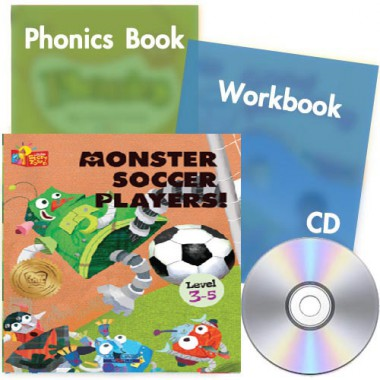 Little Story Town 3-5:Monster Soccer Players!