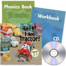 Little Story Town 2-8:Hello! I Am Tractor!