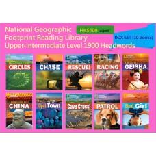 National Geographic Footprint Reading Library - Upper-intermediate Level 1900 Headwords (Box Set - 10 books)
