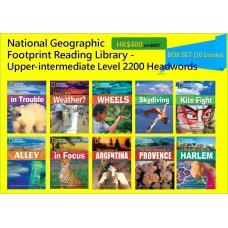 National Geographic Footprint Reading Library - Upper-intermediate Level 2200 Headwords (Box Set - 10 books)