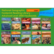 National Geographic Footprint Reading Library - Advanced Level 2600 Headwords (Box Set - 10 books)