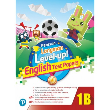 PEARSON LONGMAN LEVEL UP! ENGLISH TEST PAPERS 1B