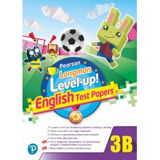 PEARSON LONGMAN LEVEL UP! ENGLISH TEST PAPERS 3B