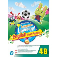 PEARSON LONGMAN LEVEL UP! ENGLISH TEST PAPERS 4B