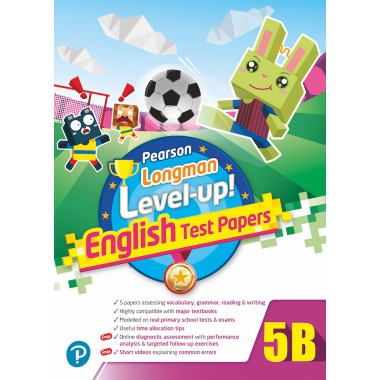 PEARSON LONGMAN LEVEL UP! ENGLISH TEST PAPERS 5B