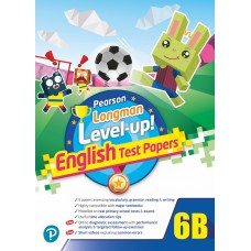 PEARSON LONGMAN LEVEL UP! ENGLISH TEST PAPERS 6B