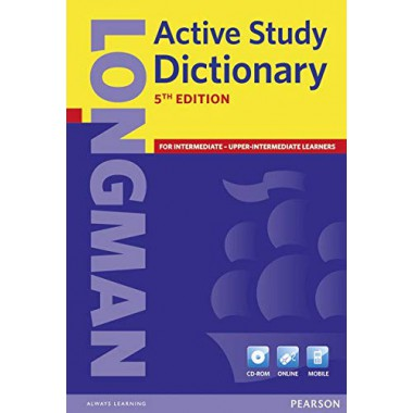 LONGMAN ACTIVE STUDY DICTIONARY 5TH EDN PPR & CD-ROM PACK