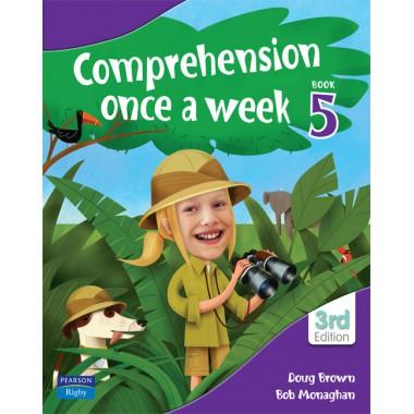 COMPREHENSION ONCE A WEEK 5
