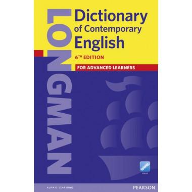 LONGMAN DICTIONARY OF CONTEMPORARY ENGLISH 6/E PB & ONLINE