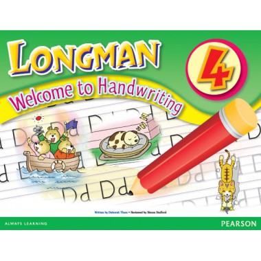 LMN WEL TO HANDWRITING BK  4