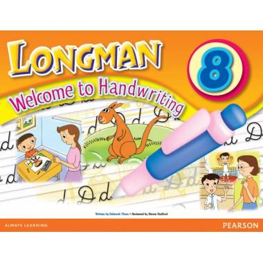 LMN WEL TO HANDWRITING BK  8