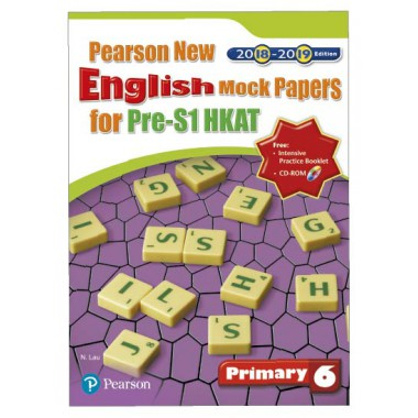PEARSON NEW ENG MOCK PAPERS PRE-S1 HKAT (2018-19 ED) P6
