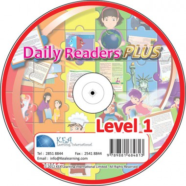 Daily Readers PLUS-CD Level 1