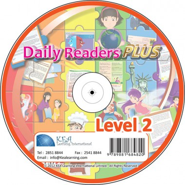 Daily Readers PLUS-CD Level 2