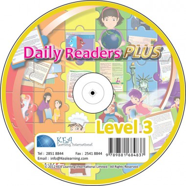 Daily Readers PLUS-CD Level 3