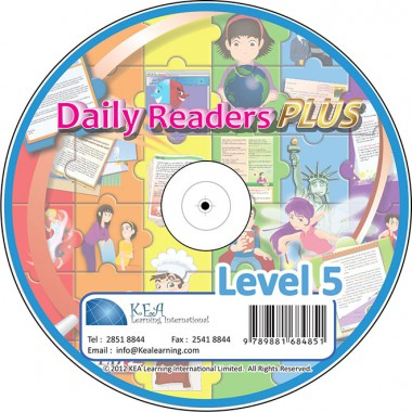 Daily Readers PLUS-CD Level 5