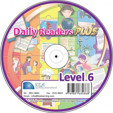 Daily Readers PLUS-CD Level 6