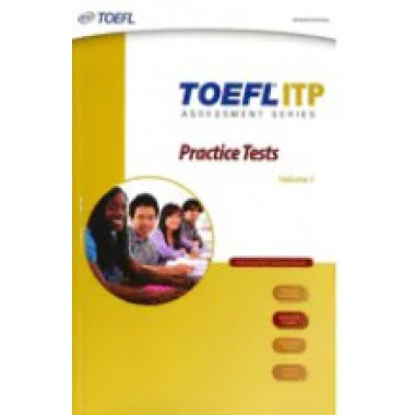 TOEFL ITP Practice test book+CD