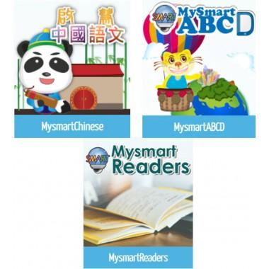 數、英及圖書平台三項網上學習計劃組合