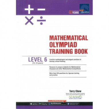 Level 6 Math Olympiad Training Book