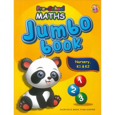 Pre-School Maths Jumbo Book N,K1 & K2