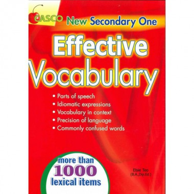 New Sec 1 Effective Vocabulary