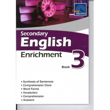 Bk 3 Sec English Enrichment