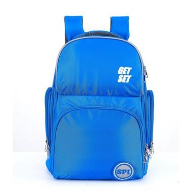 SPI護脊書包 藍 Get Set 19 L