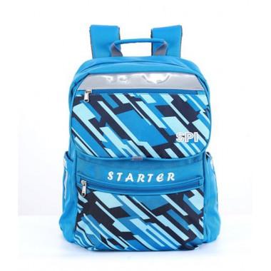 SPI護脊書包 藍 Starter 19 L